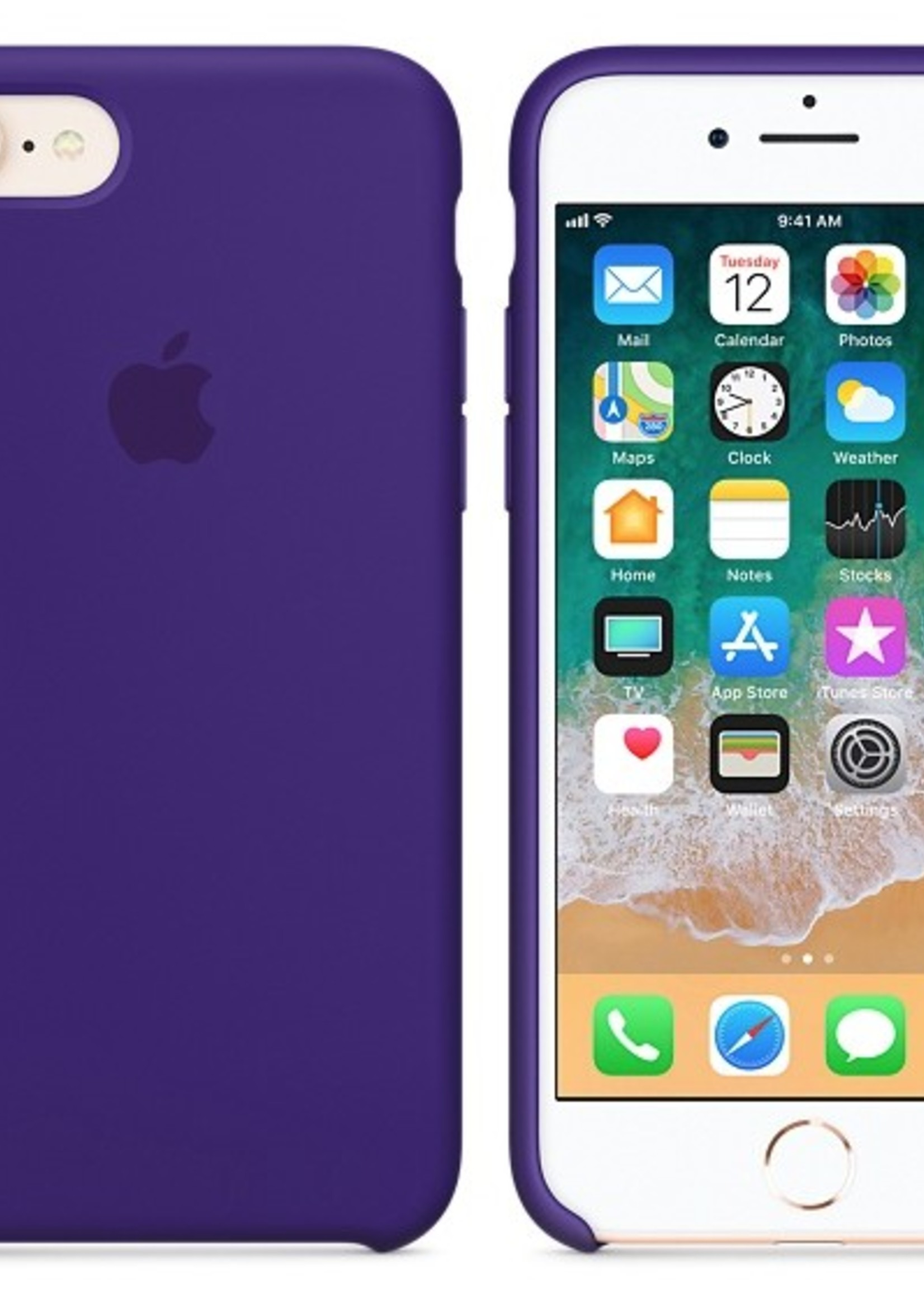 iPhone 8/7 Silicone Case - Ultra Violet