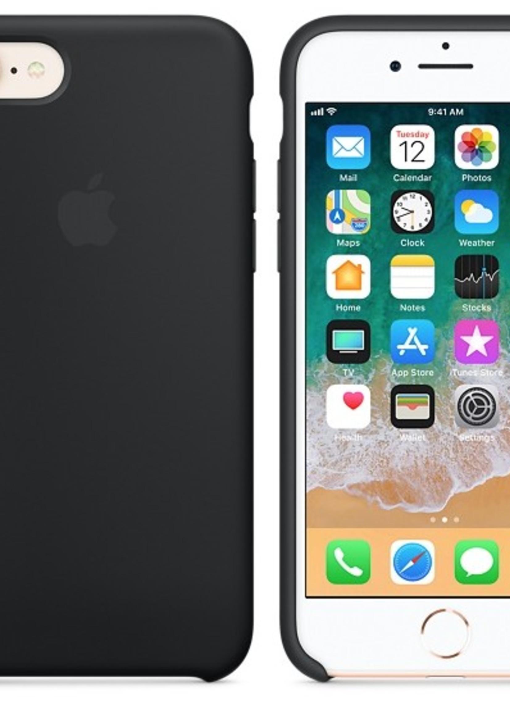 iPhone 8/7 Silicone Case - Black