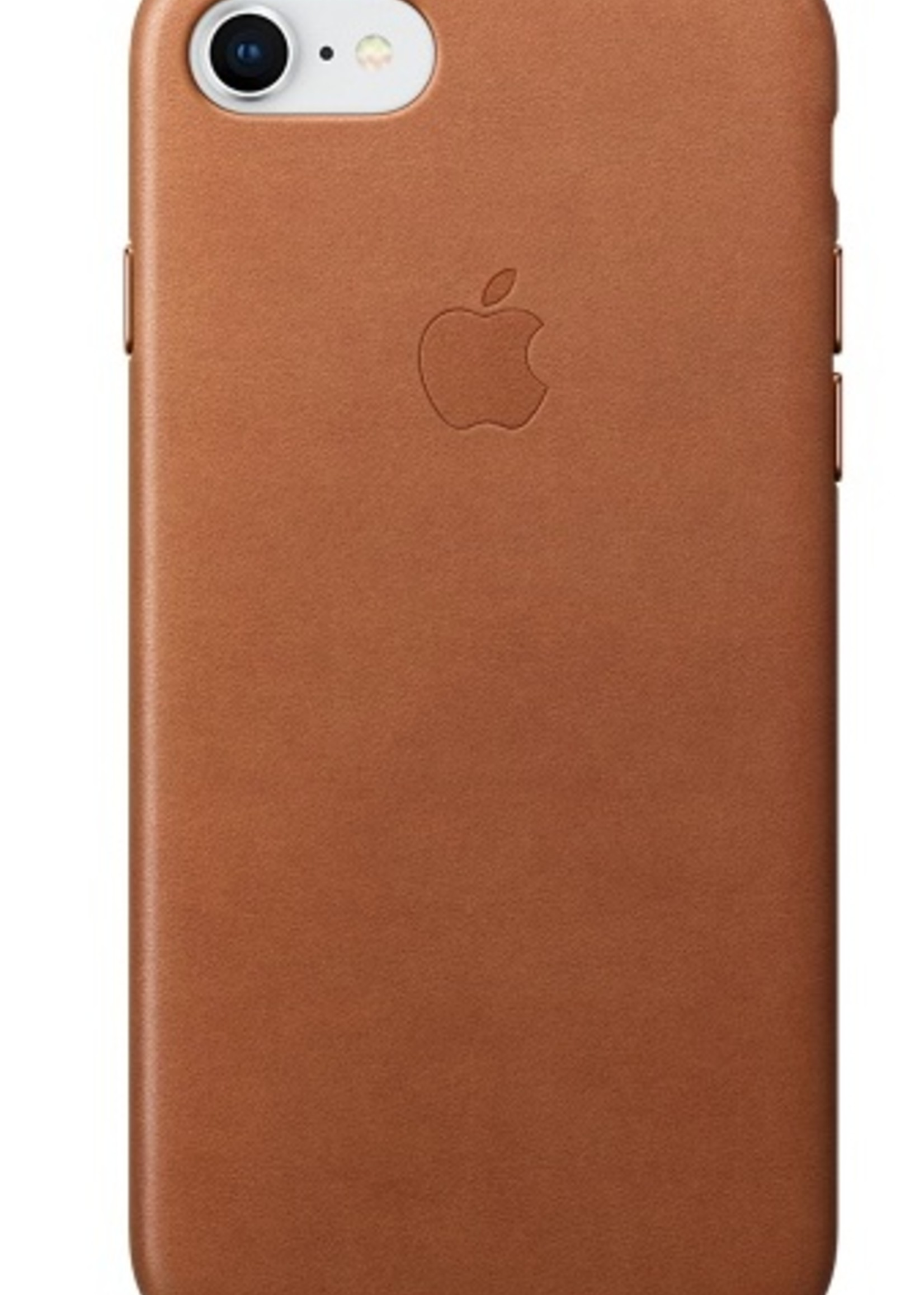 iPhone 8/7 Leather Case - Saddle Brown