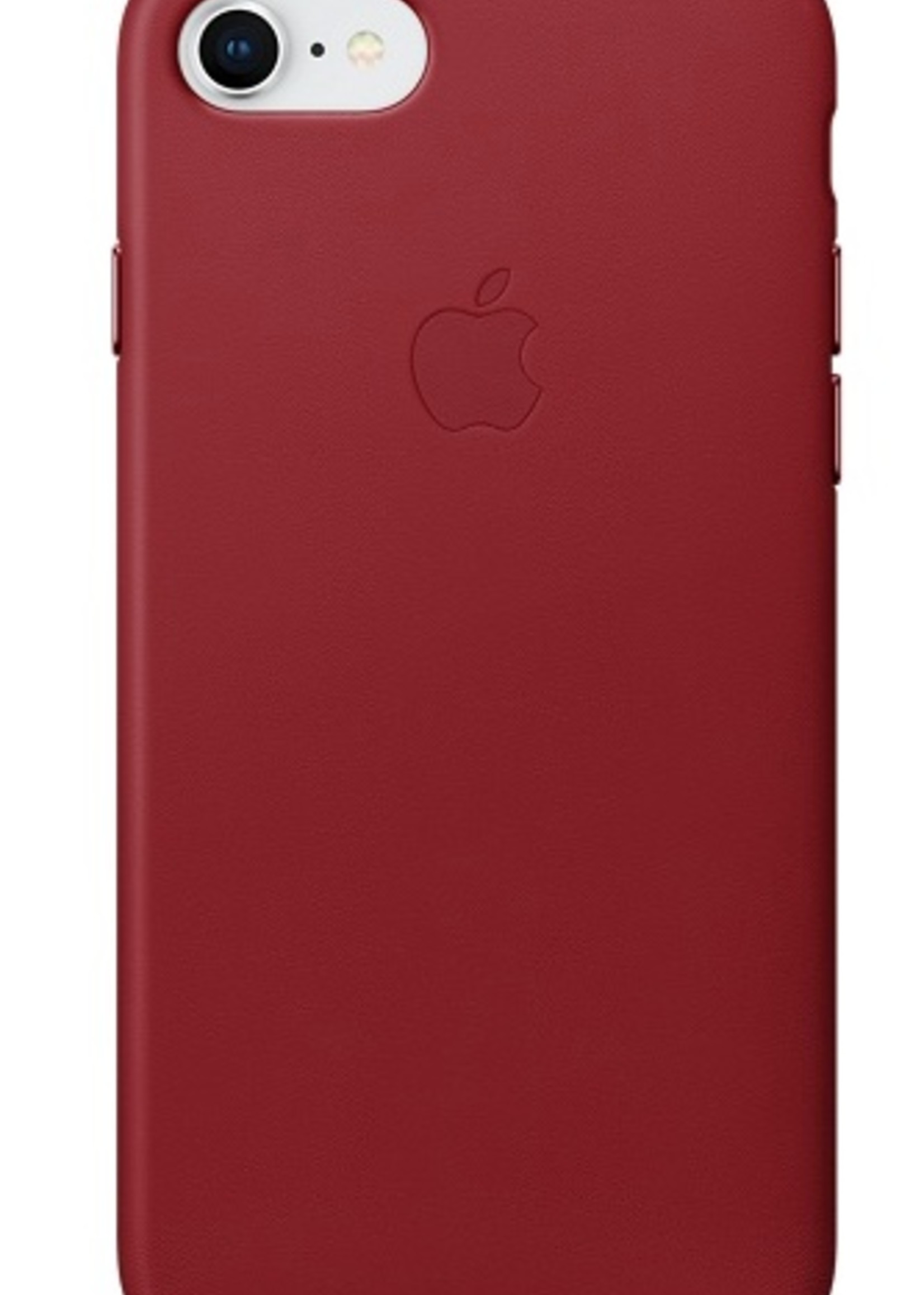 iPhone 8/7 Leather Case - Product Red