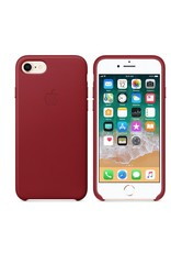 Apple iPhone 8/7 Leather Case - Product Red