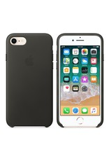 Apple iPhone 8/7 Leather Case - Charcoal Gray
