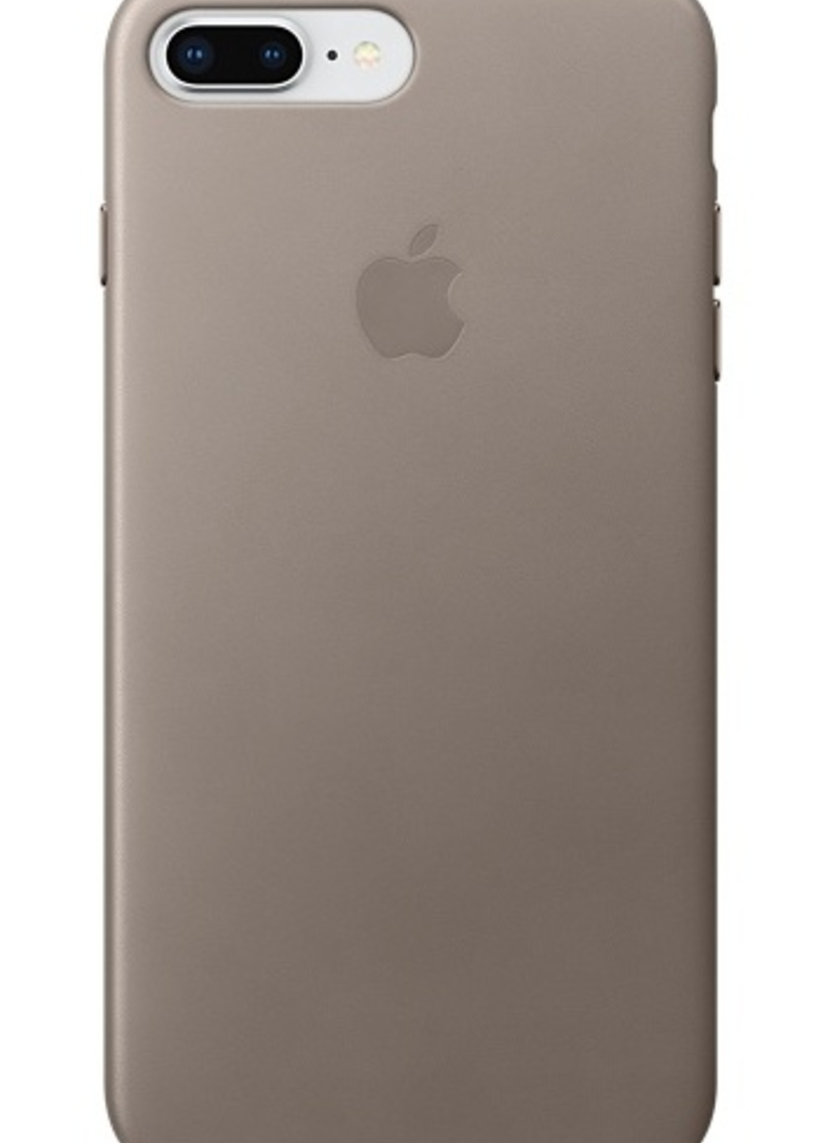 iPhone 8 Plus/7 Plus Leather Case - Taupe