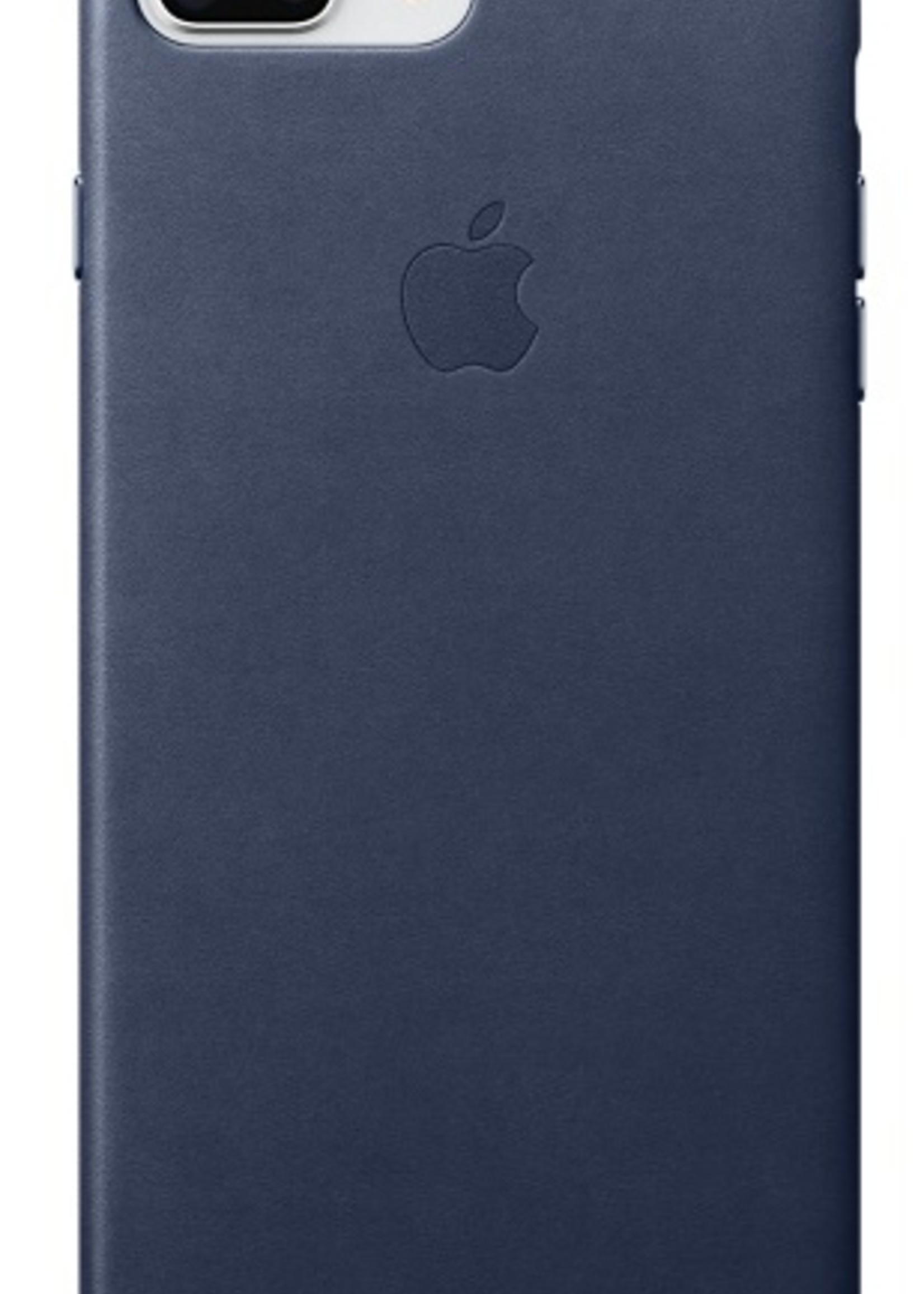 iPhone 8 Plus/7 Plus Leather Case - Midnight Blue