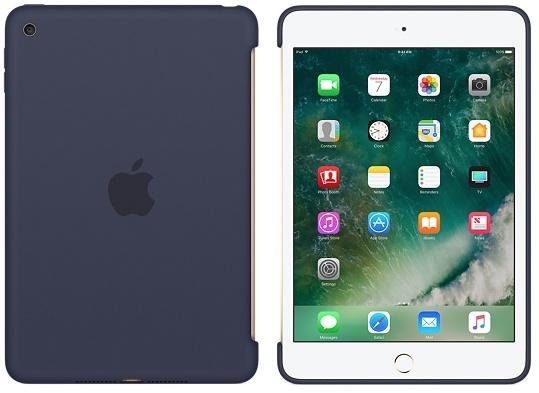 Apple iPad mini 4 silicone case midnight blue