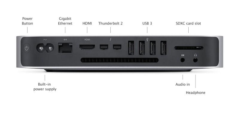 Apple Mac Mini - 4GB - 500GB - 2017