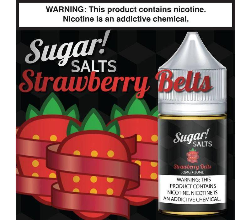 Sugar Salts STRAWBERRY BELTS by Sugar Salts