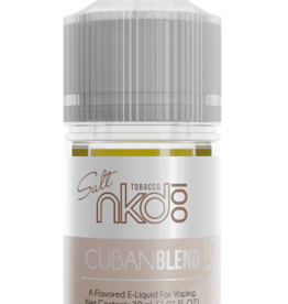 CUBAN BLEND by Nkd 100 Salt