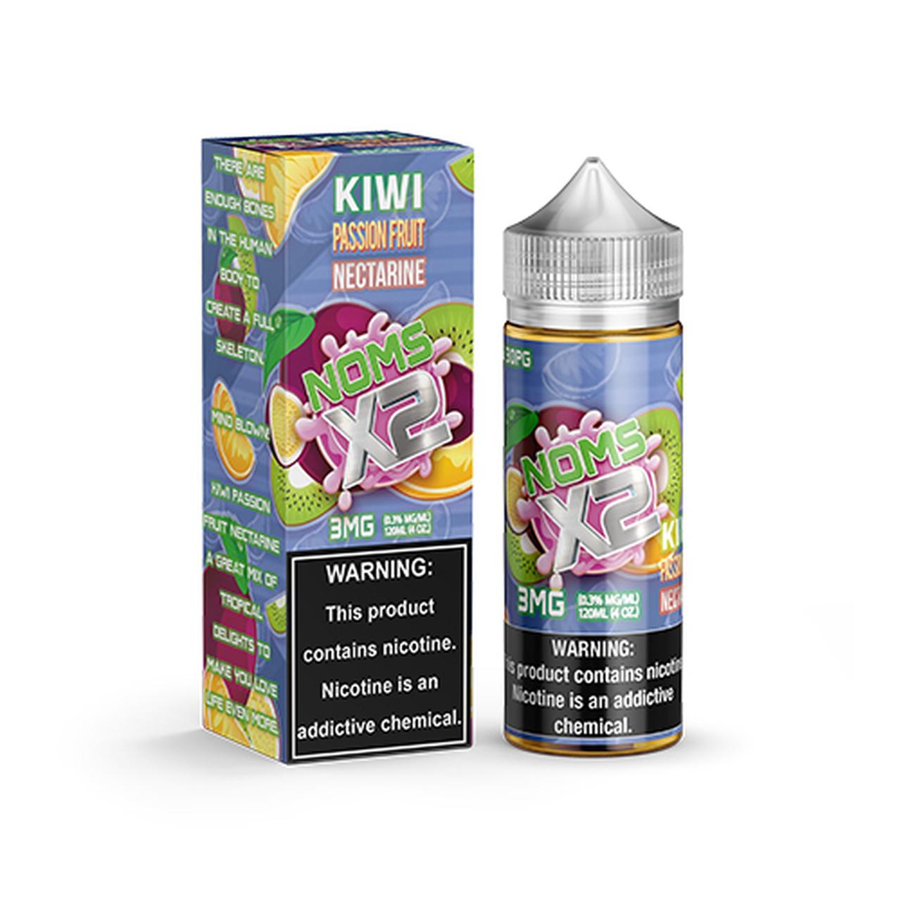 NOMS X2 KIWI PASSION FRUIT NECTARINE by Lotus