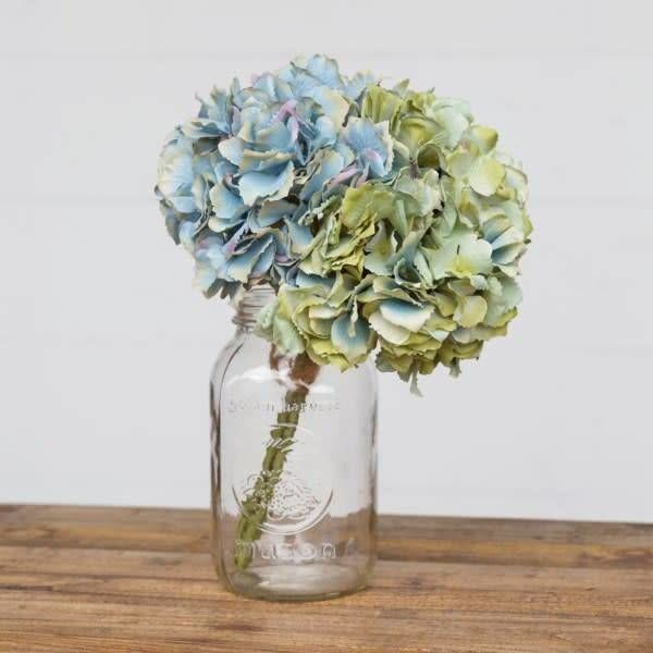Hydrangea Blue Green Bundle Combo TR2215