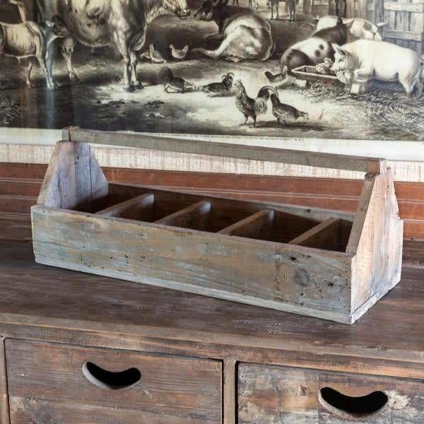 Wooden Plumbers Tote LW7130