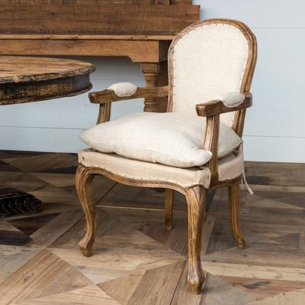French Country Oak Arm Chair NT3601