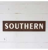 Park Hill Embossed Metal Southern Sign FH6013
