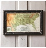 Park Hill Framed Map of the South ET1011