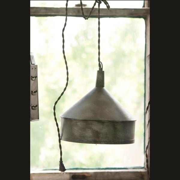Metal Funnel Pendant Light LL0949