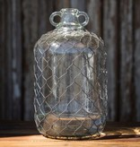 Park Hill Moonshine Jug with Poultry Wire DS8974