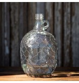 Park Hill Wine Jug with Poultry Wire