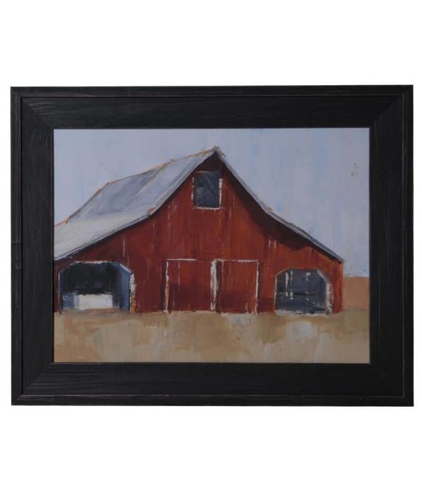 Crestview RUSTIC RED BARN 1 CVA4078