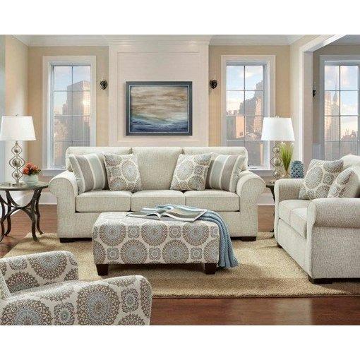 Affordable Charisma Linen 3443 Sofa