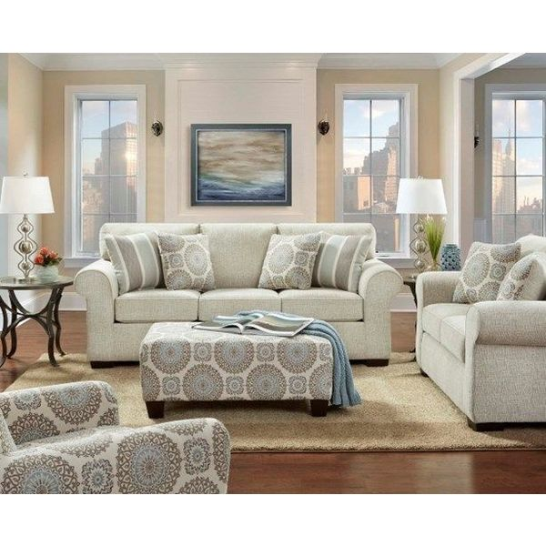 Affordable Charisma Linen 3443 Sofa