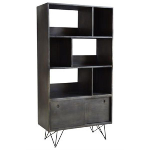 Bookcase 79731 Mylom Smokey Gray