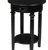 Pacific Round Table Antique Black LD PP-CT119S