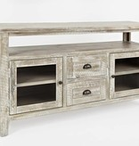 Jofran Artisan's Craft Storage Console - Washed Grey 1743-54