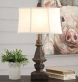 Crestview Clara Table Lamp CVAVP950