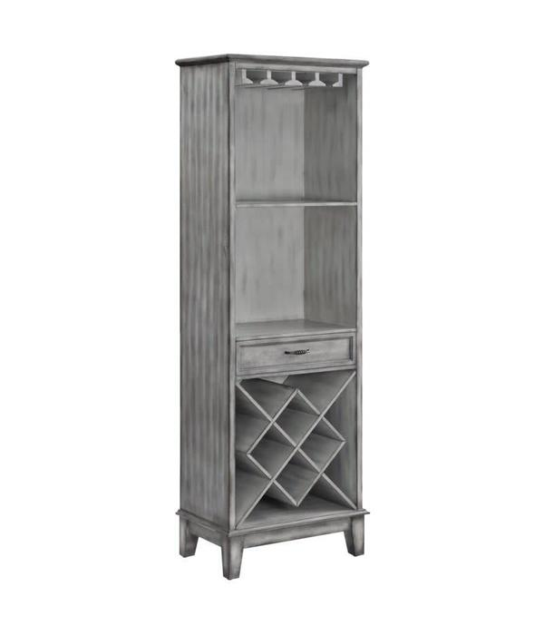 Crestview Napa Tall 1 Door Wine Cabinet CVFZR3693