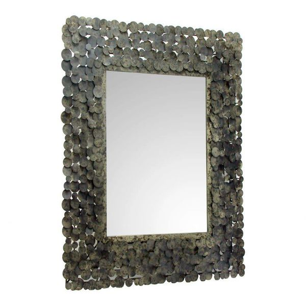 Moon Shadow Mirror Rectangular Antique OR-1012-31