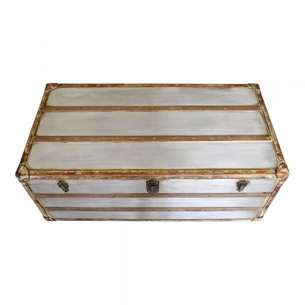 Steamer Trunk Coffee Table HU-1119-30