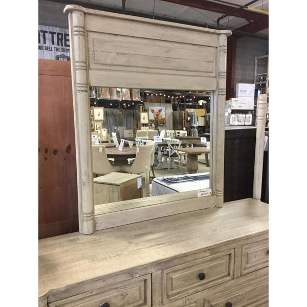Farmhouse Colbie Spin Leg Mirror