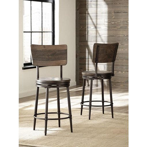 Hillsdale Furniture Jennings Swivel Counter Stool 4022-826