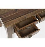 Jofran Artisan's Craft 5-Drawer Desk - Dakota Oak 1742-58
