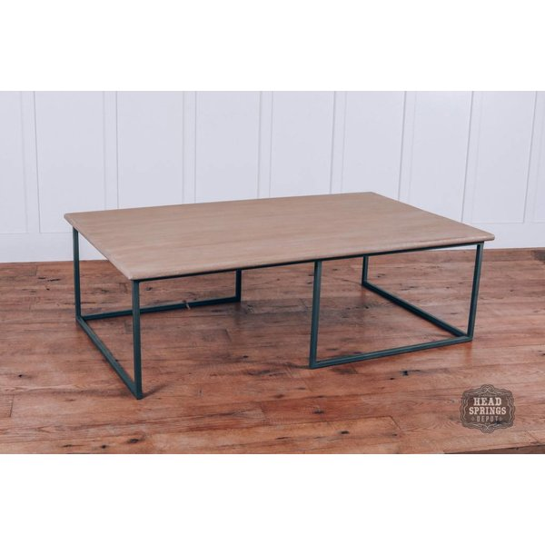 Sangster Coffee Table Old Toast Top Sand Blast Natural