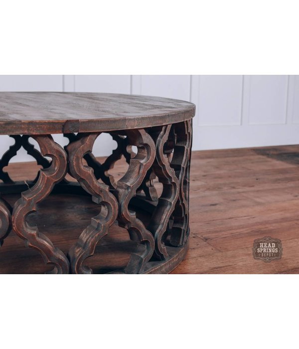 Fox & Roe Clover Round Coffee Table