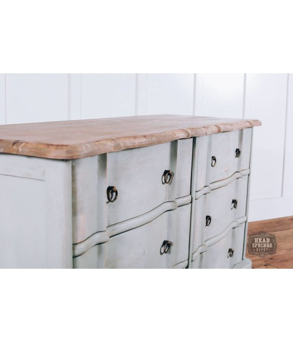 Fox & Roe Ava French Provincial 6 Drawer Dresser