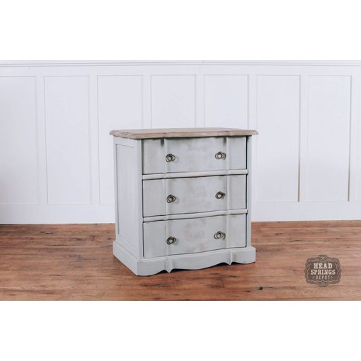 Fox & Roe Ava French Provincial 3 Drawer Night Stand FP3DNS