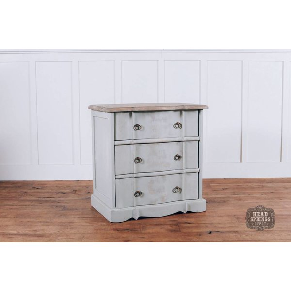 Ava French Provincial 3 Drawer Night Stand FP3DNS