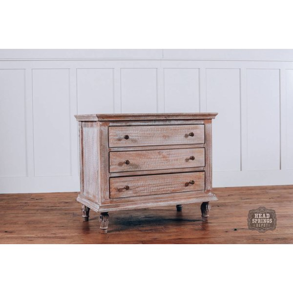 "Maison 32"" Night Stand Mango Burnt White"