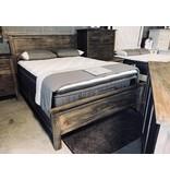 Fox & Roe Farm House Bed King Mango Salvage Grey Finish