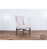 Fox & Roe Rachel Dining Chair Milano 104 White LFG Leg Finish