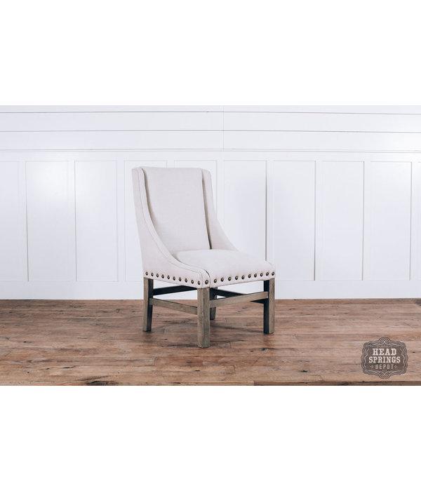 Fox & Roe Rachel Dining Chair Milano 104 Off White