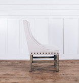Fox & Roe Rachel Dining Chair Milano 104 Off White LFG Leg Finish