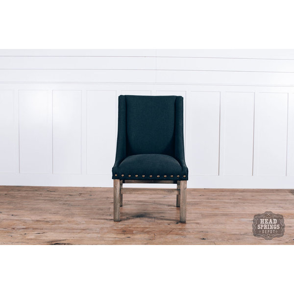 Rachel Dining Chair Auro 108 Dark Gray LFG Leg Finish