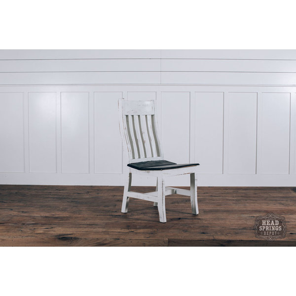 Farmhouse Curved Back Dining Chair