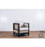 Fox & Roe Arm Chair Burlap