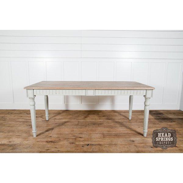 Signature 8' Dining Table Light French Grey Dustexa