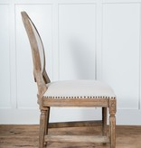 Fox & Roe Oval Dining Chair Auro 108 Burnt White