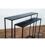 Fox & Roe Narrow S/2 Console Tables Black